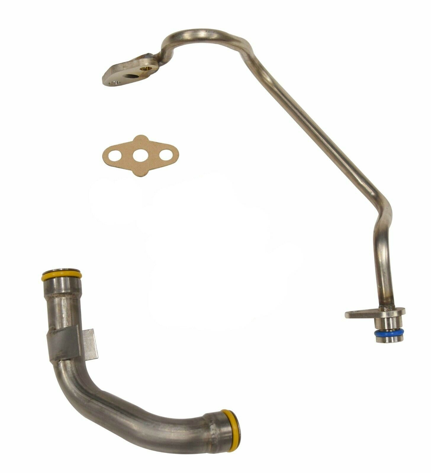 SPOOLOGIC Updated Turbo Oil Feed Drain Line Kit for 03-10 6.0L Powerstroke