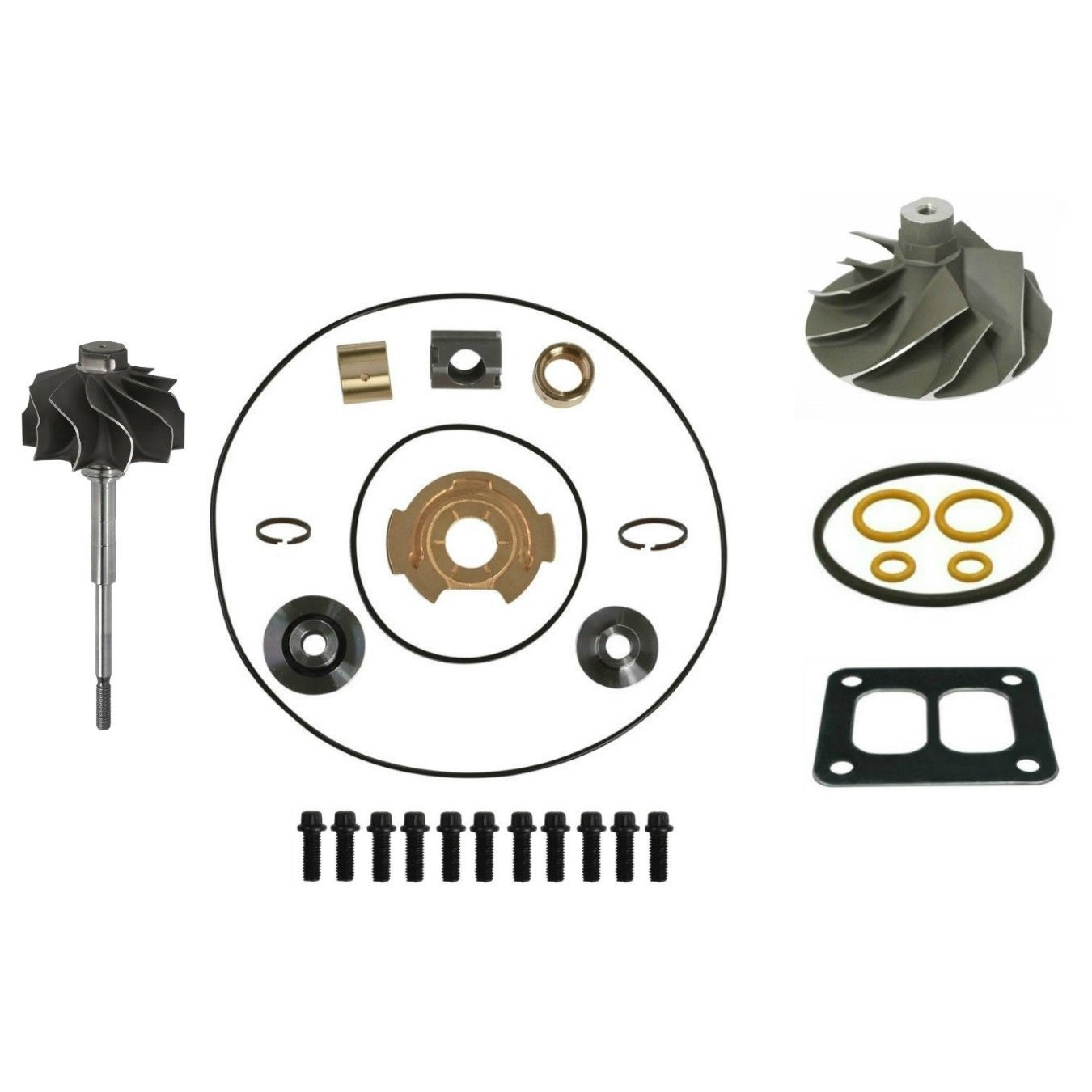 TP38 Master Turbo Rebuild Kit Cast Compressor Wheel For 94-97 7.3L Ford Powerstroke Diesel