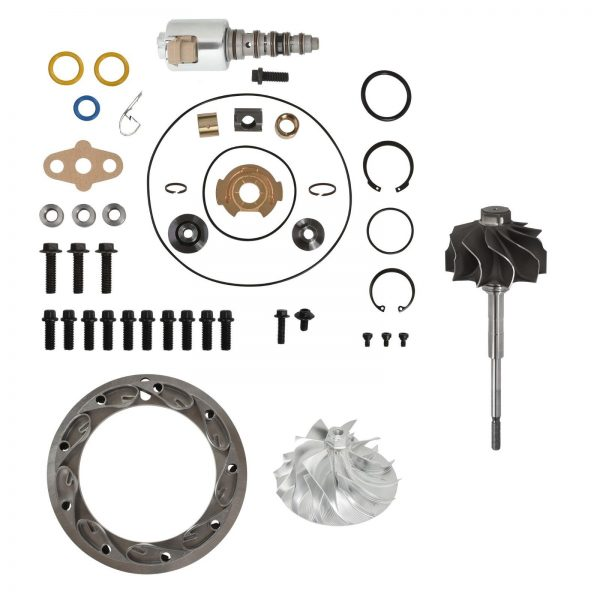 SPOOLOGIC GT3782VA Master Turbo Rebuild Kit Billet Wheel for 05.5-10 6.0L Powerstroke