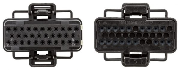 Fuel Injection Control Module (FICM) Connector X3 for 03-10 6.0L Powerstroke