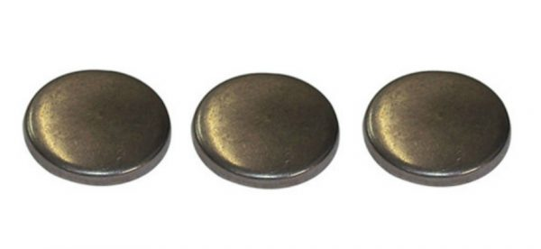 Set Of 3 Engine Block Freeze Plugs for 89-02 5.9L Cummins 12V 24V