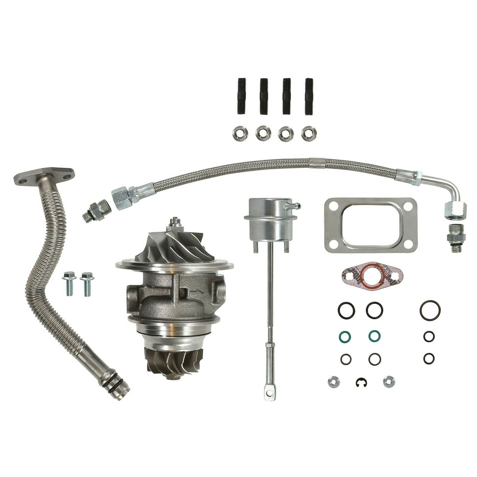 HY35W Master Turbo Rebuild Kit Cast CHRA For 03-04 5.9L Dodge Ram Cummins Diesel