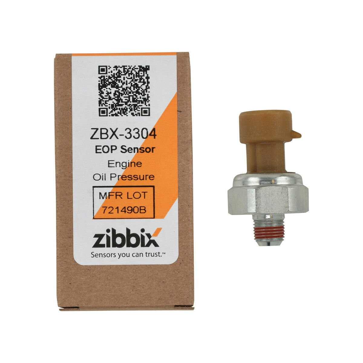 Zibbix ZBX-3304 EOP Engine Oil Pressure Sensor For 94-03 International Navistar DT530 DT466E T444E