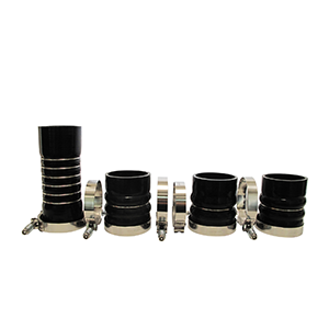 SPOOLOGIC 5 Ply Silicone CAC Boot Kit for 03-07 5.9L Cummins 24V