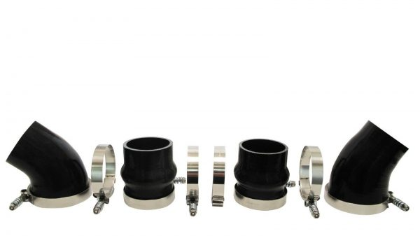 SPOOLOGIC 5 Ply Silicone CAC Intercooler Boot Kit for 94-02 5.9L Cummins 12V 24V
