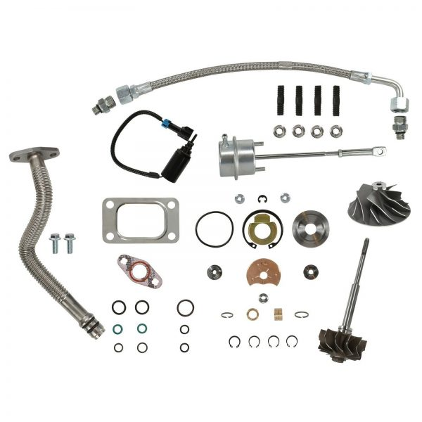 SPOOLOGIC HE351CW Master Turbo Rebuild Kit Cast Wheel for 04.5-07 5.9L Cummins 24V
