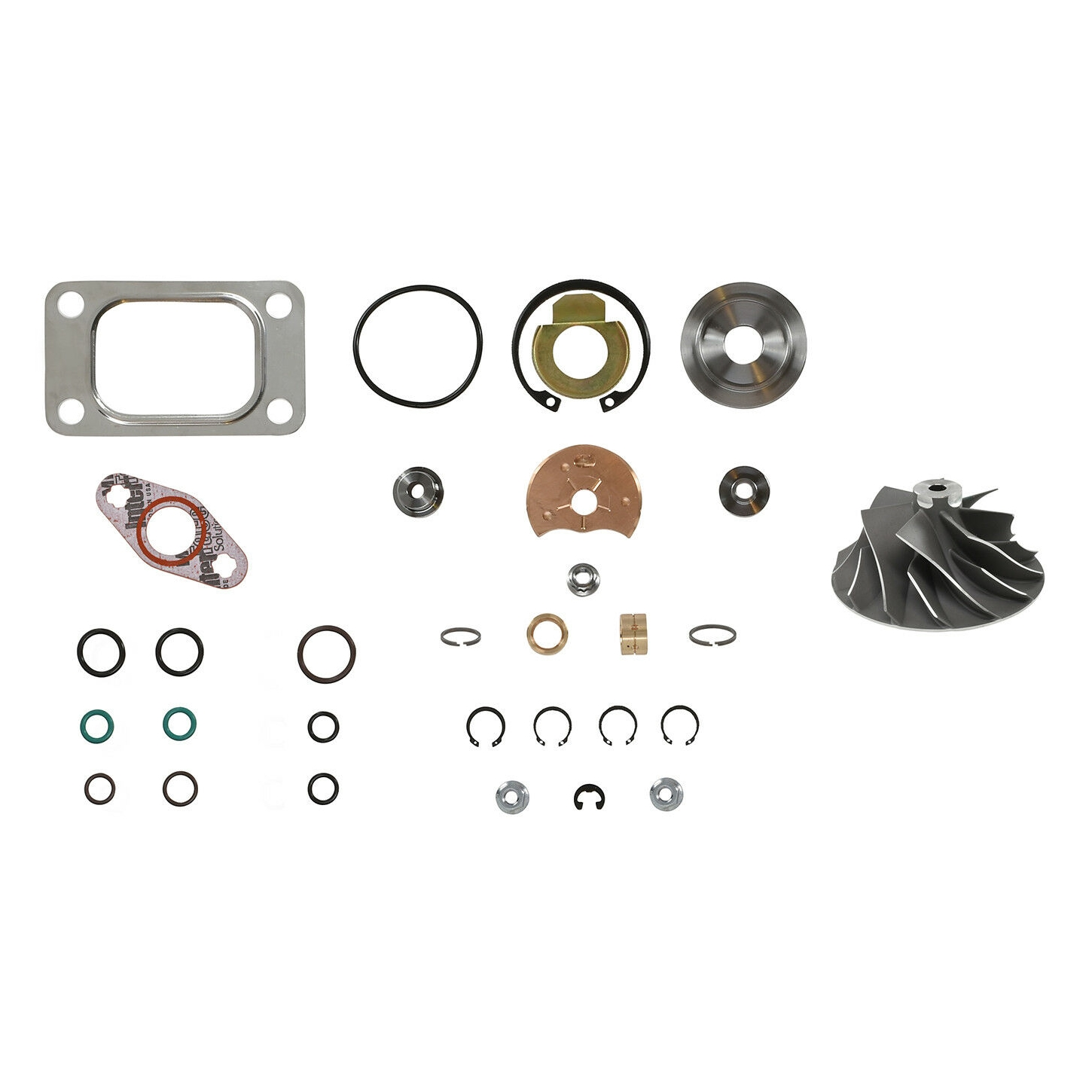 HE351CW Turbo Rebuild Kit Cast Wheel For 04.5-07 5.9L ISB Dodge Ram Cummins Diesel