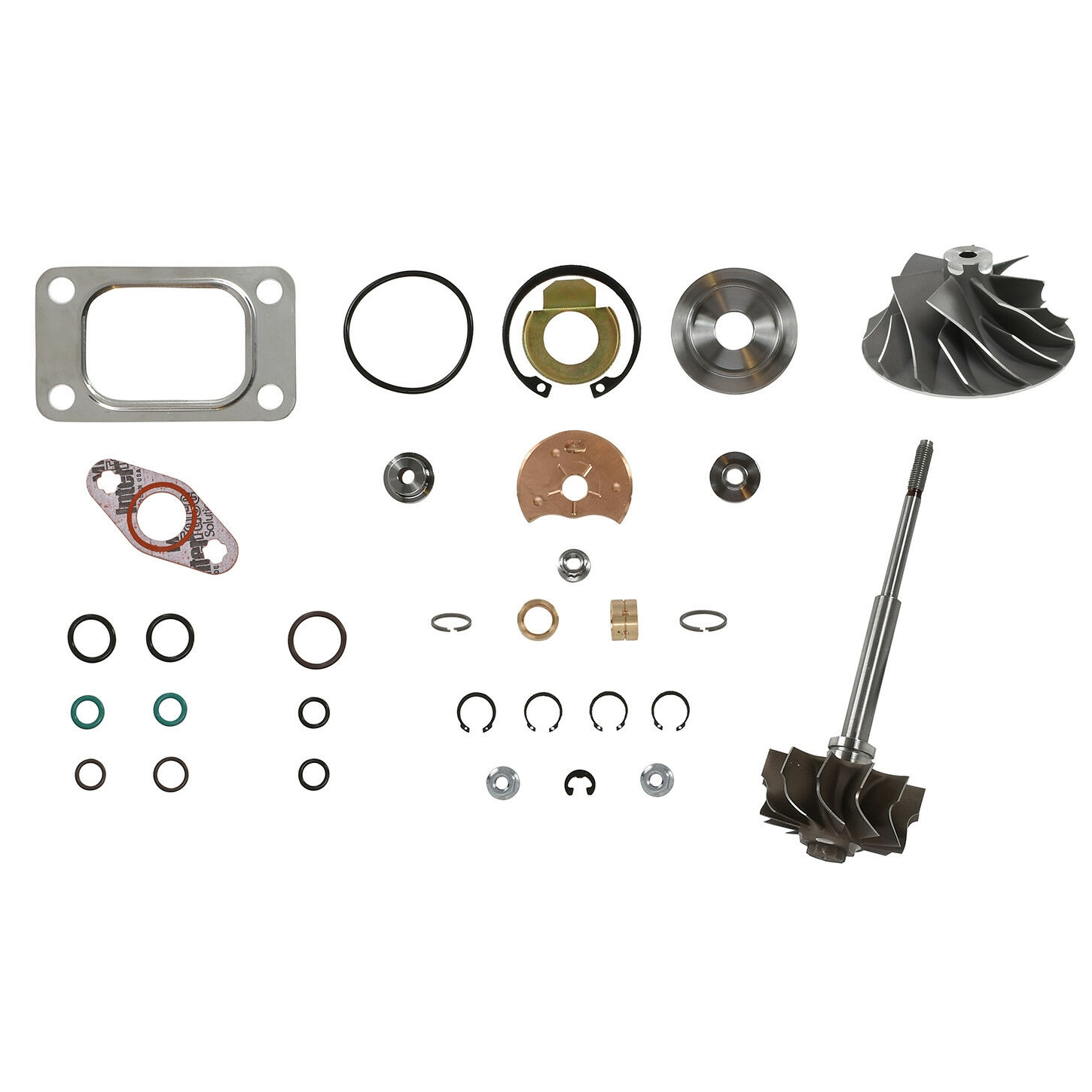 HE351CW Turbo Rebuild Kit Cast Wheel Turbine Shaft For 04.5-07 5.9L ISB Dodge Ram Cummins Diesel