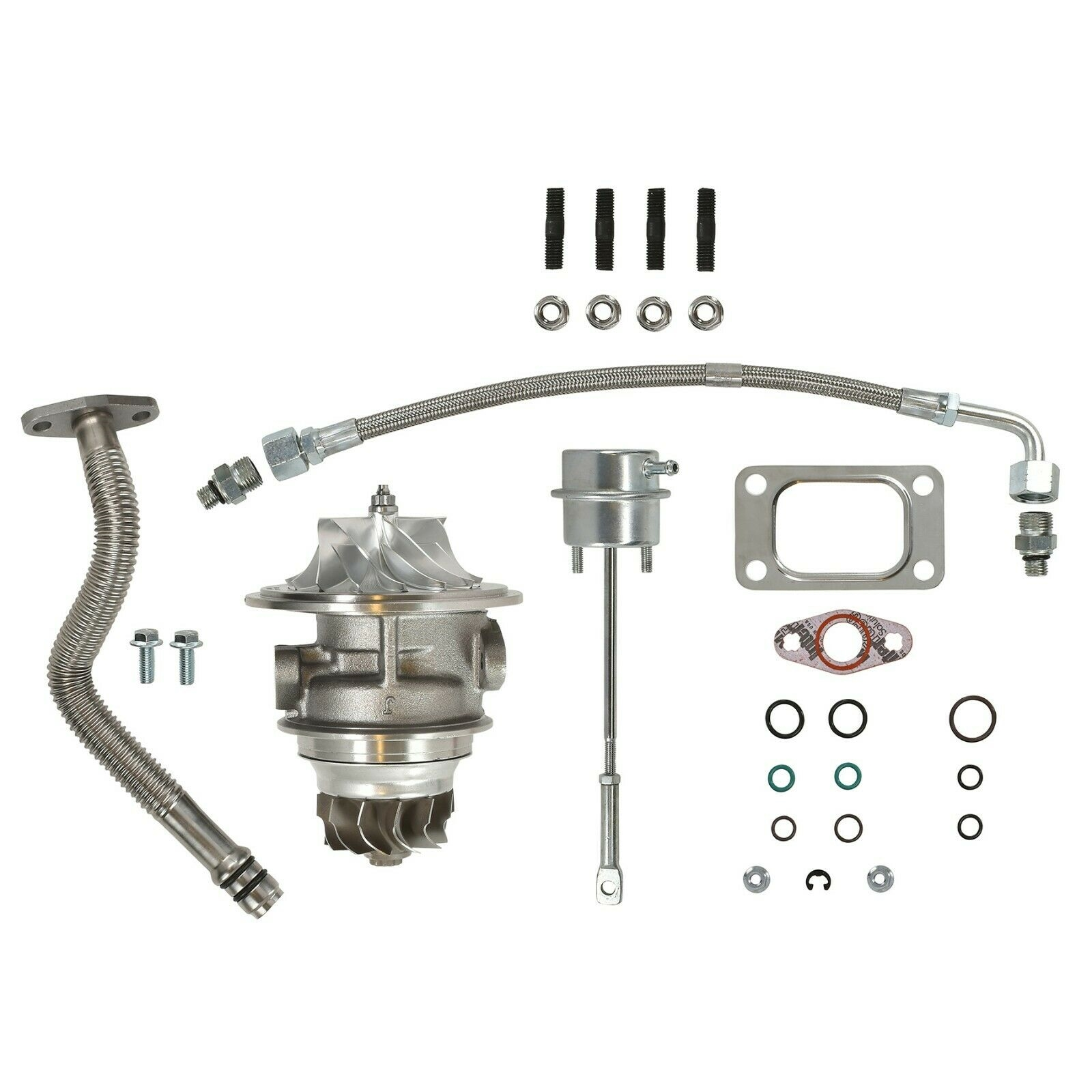 HY35W Master Turbo Rebuild Kit Billet CHRA For 03-04 5.9L ISB Dodge Ram Cummins Diesel