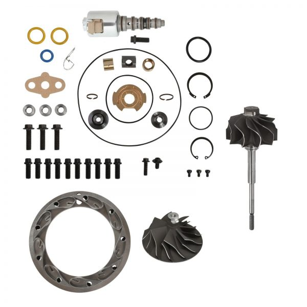 SPOOLOGIC GT3782VA Master Turbo Rebuild Kit Cast Wheel for 05.5-10 6.0L Powerstroke