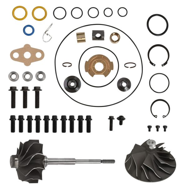 SPOOLOGIC GT3782VA Turbo Rebuild Kit Cast Wheel Shaft for 03-Early 04 6.0L Powerstroke
