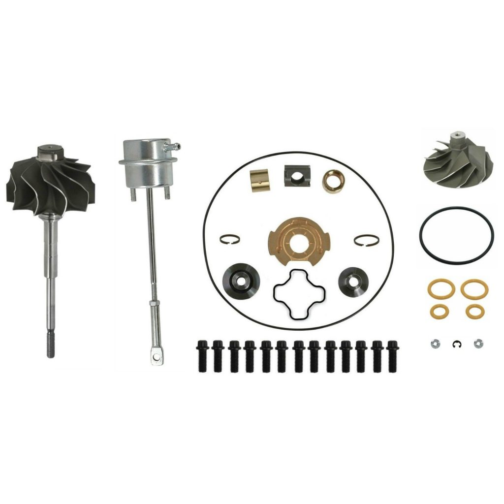 SPOOLOGIC GTP38 Master Turbo Rebuild Kit Cast Wheel for 99-03 7.3L  Powerstroke