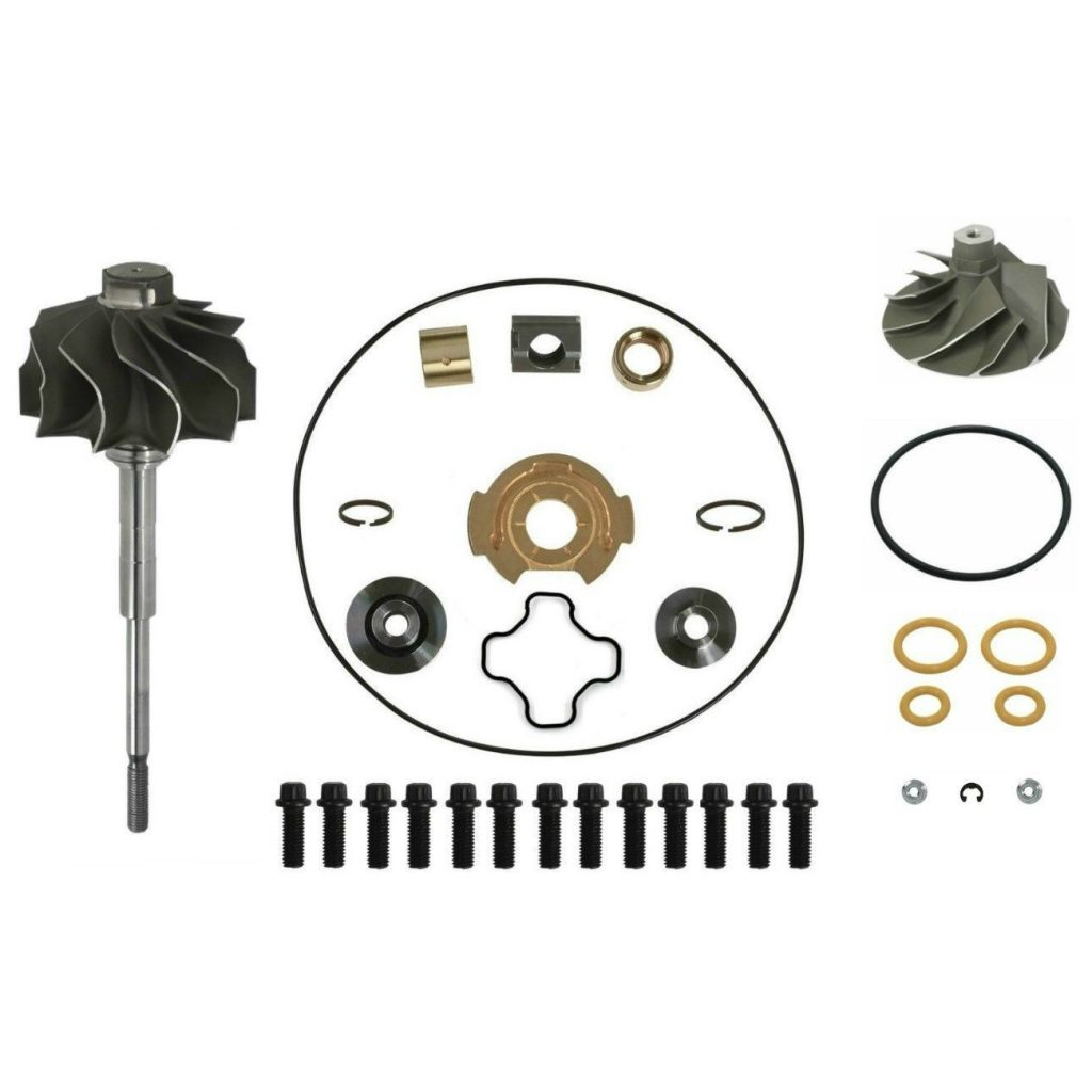 SPOOLOGIC GTP38 Turbo Rebuild Kit with Cast Wheel Shaft for 99.5-03 7.3L Powerstroke