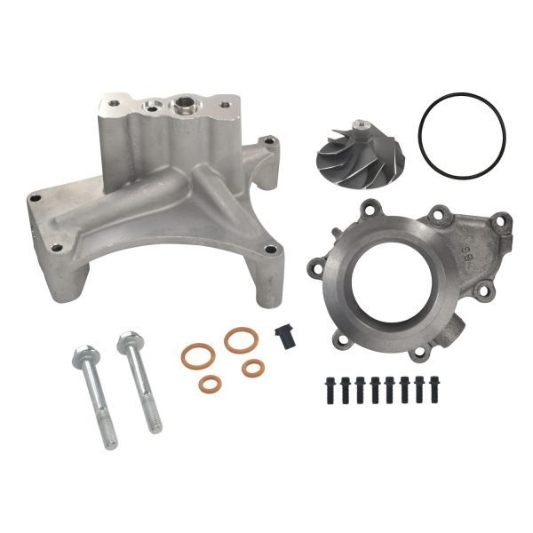 SPOOLOGIC GTP38 Pedestal EBP Delete Kit 5+5 Cast Wheel for 99.5-03 7.3L Powerstroke
