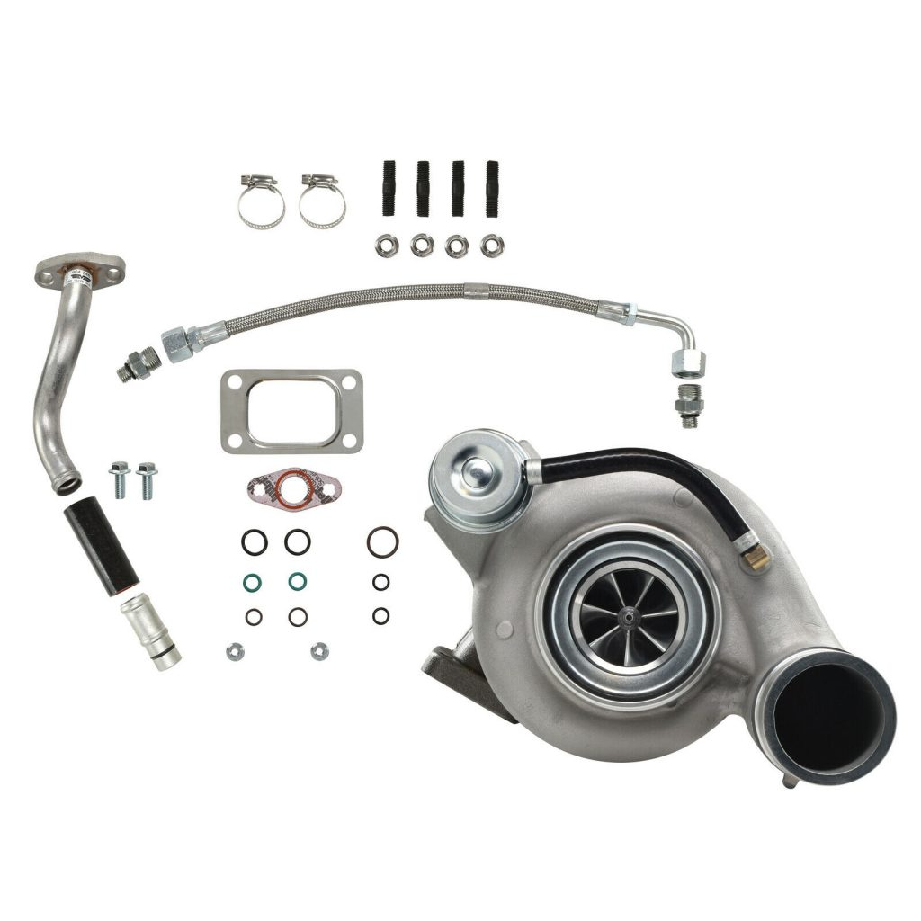 SPOOLOGIC HY35W Stock Turbocharger for 03-Early 04 5.9L Cummins 24V