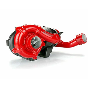 SPOOLOGIC V2S Compound Turbocharger with Red Billet Wheel for 08-10 6.4L Powerstroke