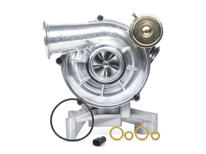 SPOOLOGIC Stage 1 Performance Turbo Polished for 99.5-03 7.3L Powerstroke F-Series Trucks