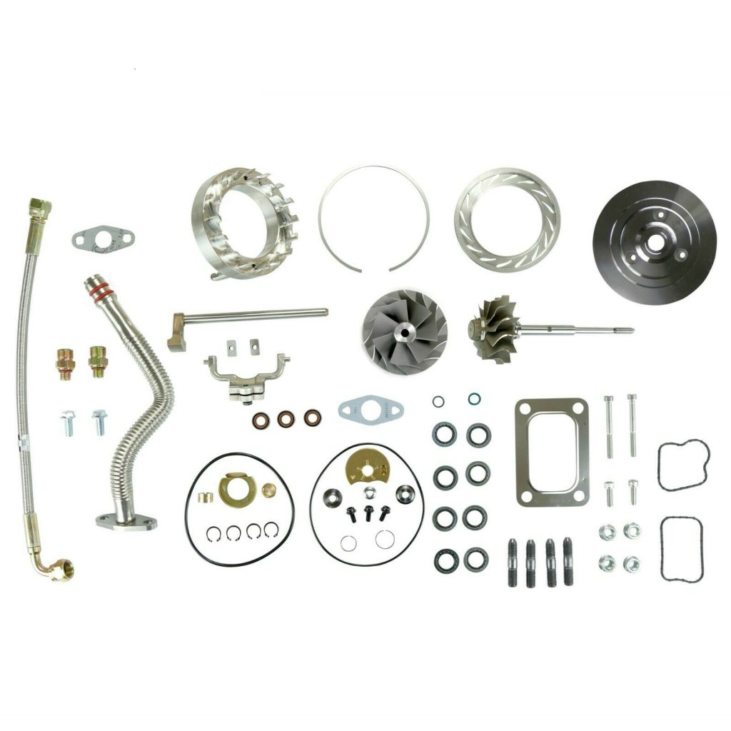 SPOOLOGIC HE351VE Master Turbo Rebuild Kit Cast for 07.5-12 6.7L Cummins 24V