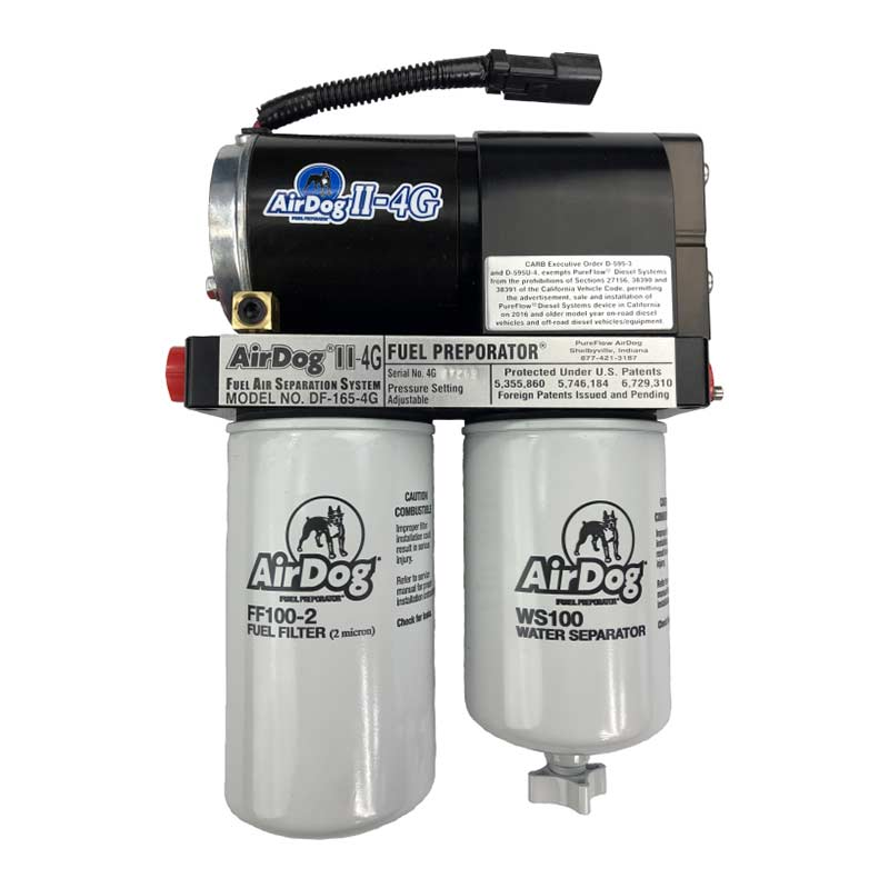 AirDog II-4G DF-200 Fuel Air Separation System for 94-98 5.9L Cummins 12V