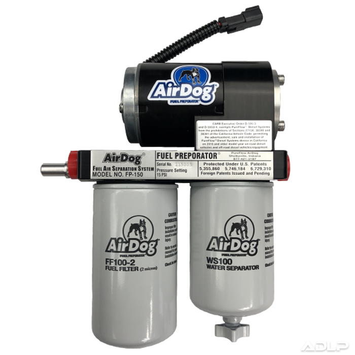 AirDog FP-150 Fuel Air Separation System for 01-10 LB7 LLY LBZ LMM Duramax