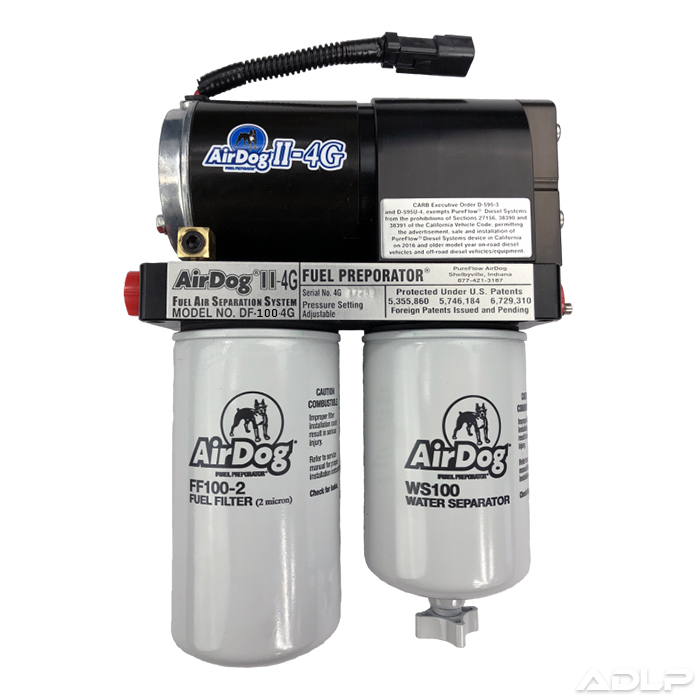 AirDog II-4G DF-100 Fuel Air Separation System for 01-10 LB7 LLY LBZ LMM Duramax