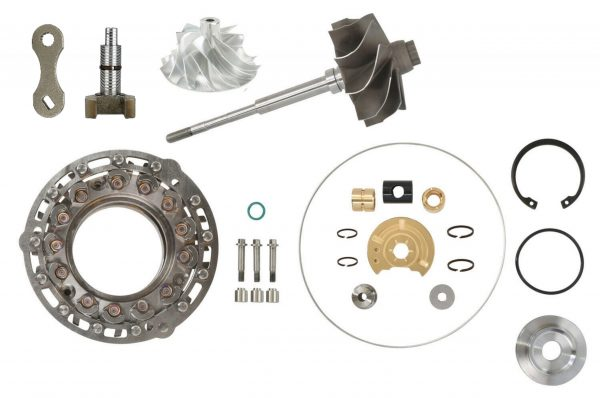 SPOOLOGIC V2S High Pressure Master Turbo Rebuild Kit Billet Arm for 08-10 6.4L Powerstroke