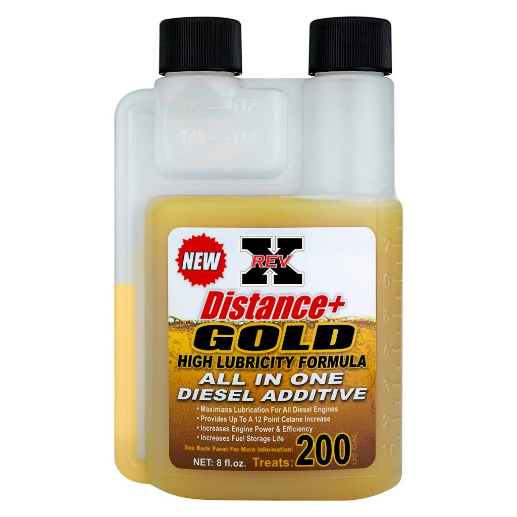 REV-X 8oz DISTANCE+ GOLD FUEL ADDITIVE