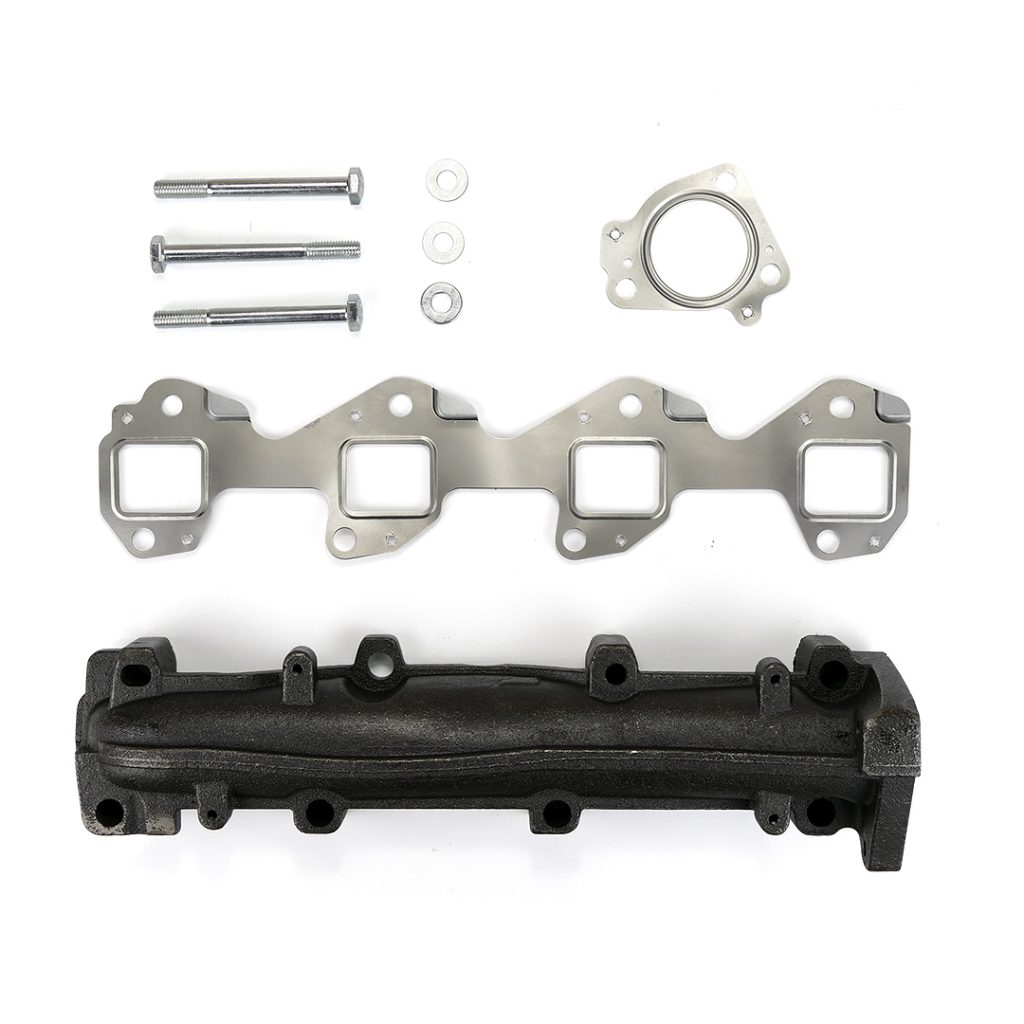 SPOOLOGIC Driver Side Exhaust Manifold Upgrade NO PINCH for 01-15 LB7 LLY LBZ LMM LML Duramax