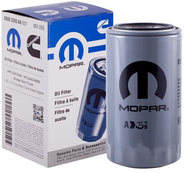 Mopar Engine Oil Filter for Cummins 12V 24V