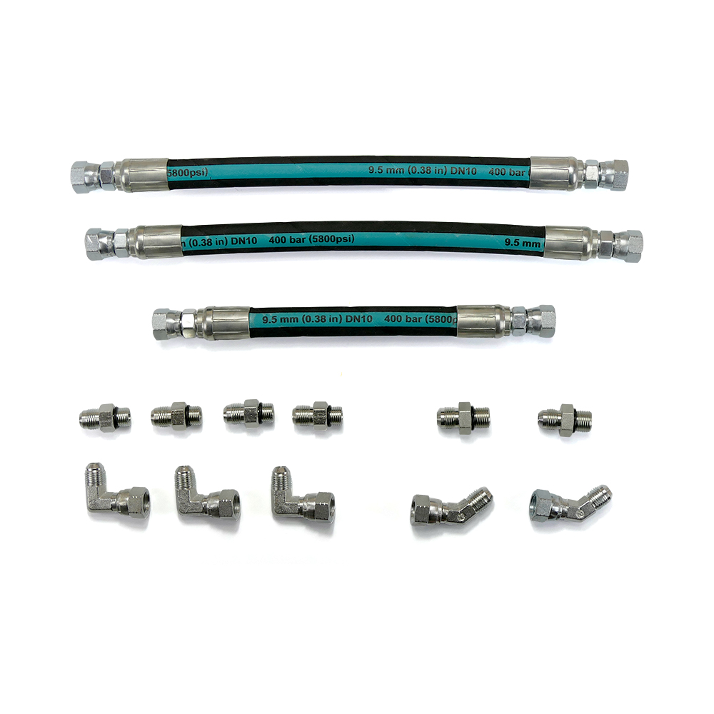 High Pressure Oil Pump (HPOP) Hose and Line Set (w/Crossover) for 99-03 7.3L Powerstroke