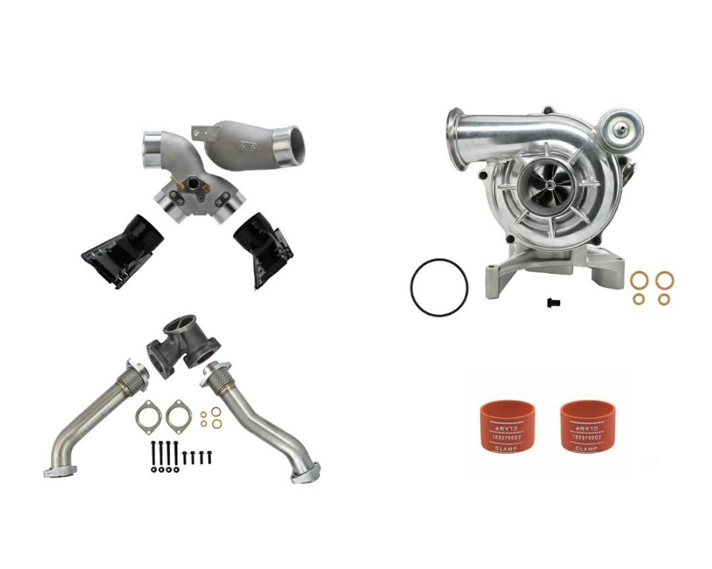 SPOOLOGIC GTP38 Turbocharger Conversion Kit for Early 99 7.3L Powerstroke