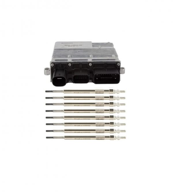 6.7L Glow Plug and Module Kit for 11-12 Ford Powerstroke