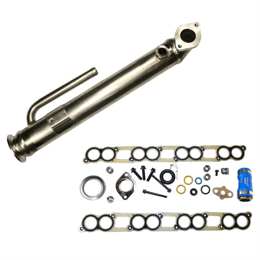 EGR Exhaust Gas Recirculation Cooler Kit for 03-04 6.0L Powerstroke