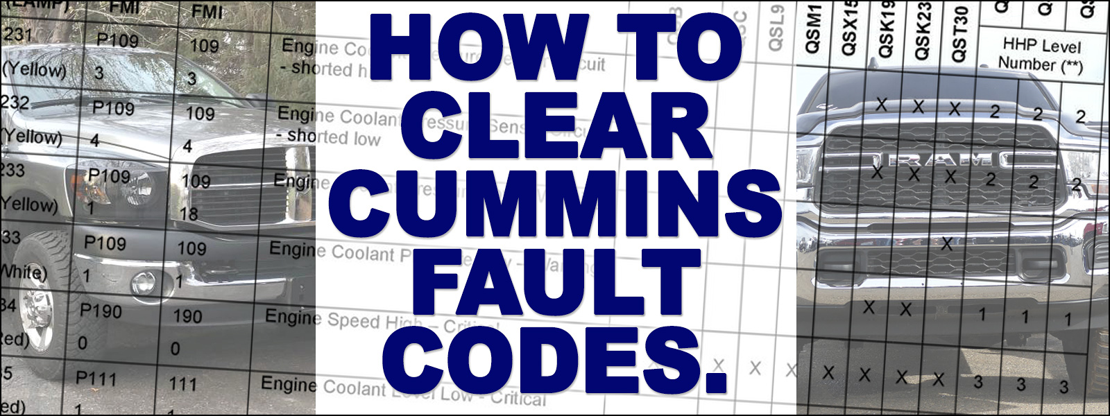 How to Clear Cummins Fault Codes