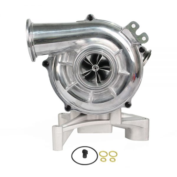SPOOLOGIC Stock Plus Performance Turbocharger Red For 99.5-03 7.3L Powerstroke Econoline