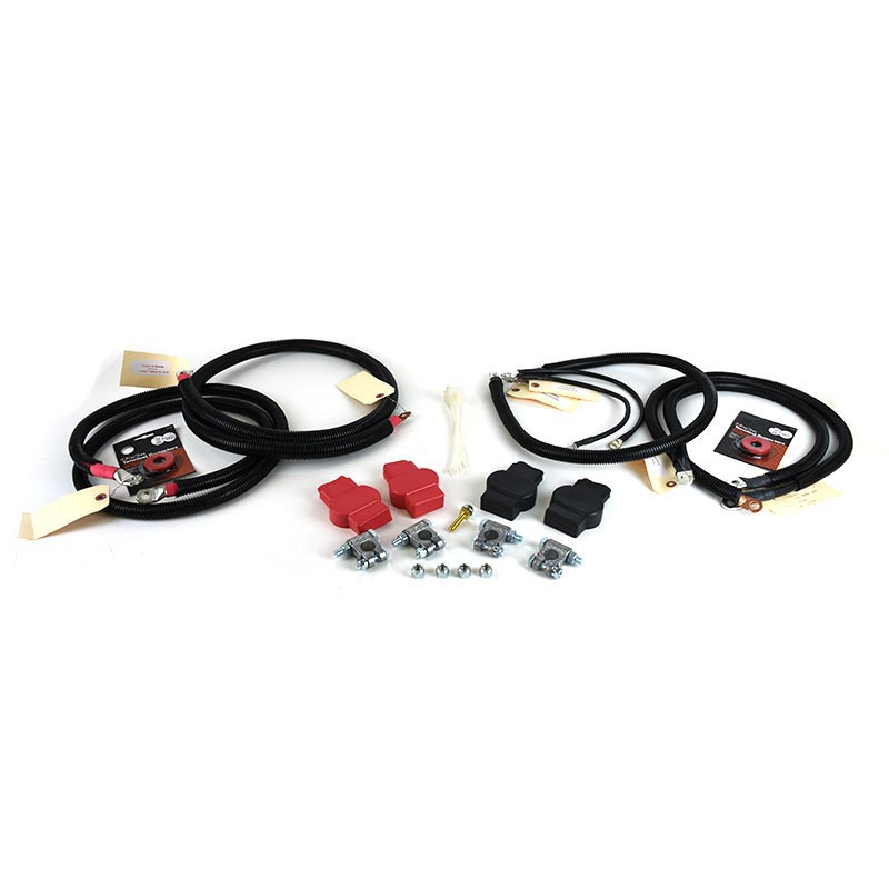 HD Replacement Battery Cable Set for 5.9L Dodge Cummins 1998.5-2002