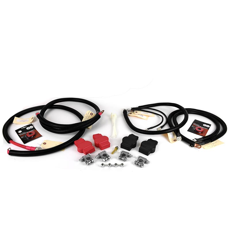HD Replacement Battery Cable Set for 7.3L Ford Powerstroke 99-03