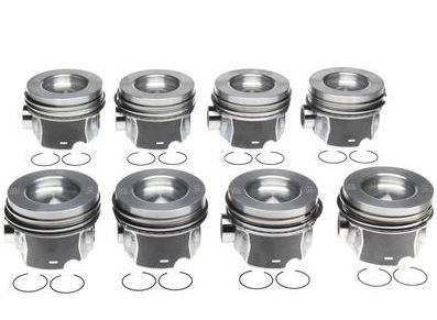 MAHLE Piston Assembly For 11-16 LML Duramax