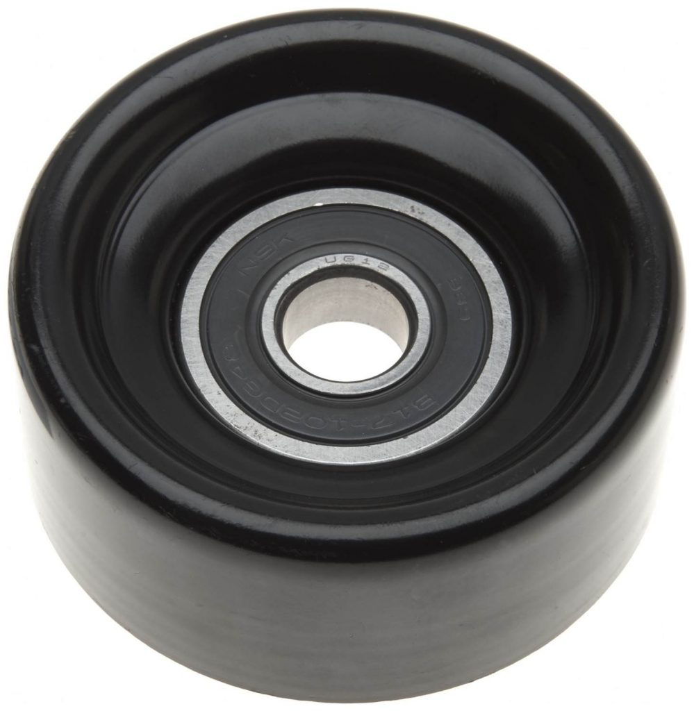 Gates Belt Pulley Smooth for 2003-2019 6.0L 6.4L 6.7L Ford Powerstroke