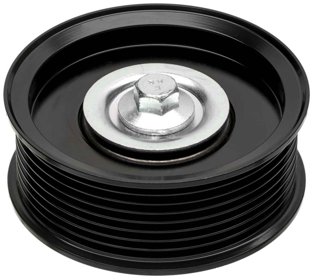 Gates Grooved Idler Pulley for 2011-2019 6.7L Ford Powerstroke