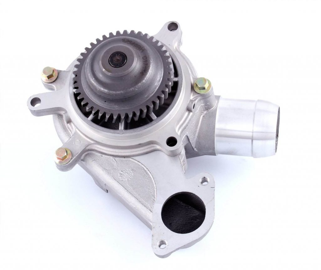 Gates Water Pump with Housing for 2001-2005 6.6L Duramax LB7 LLY