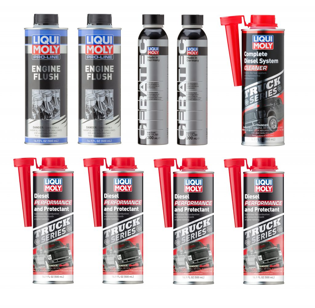 Engine and Diesel Fuel System Care Kit – Liqui Moly LMK001
