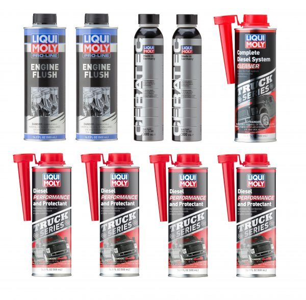 Engine and Diesel Fuel System Care Kit - Liqui Moly LMK001