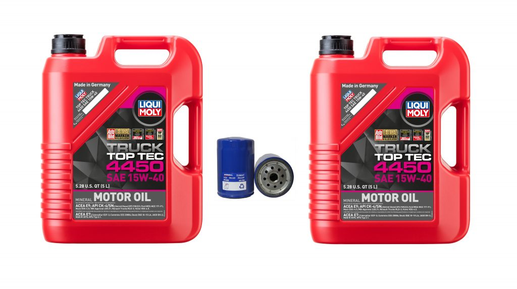 15W-40 Liqui Moly Oil Change Kit for 2001-2019 6.6L Duramax LB7 LLY LBZ LMM LML L5P