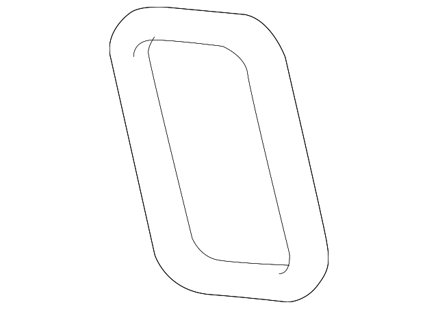 Motorcraft Timing Cover Gasket Lower Front for 2011-2020 6.7L Powerstroke