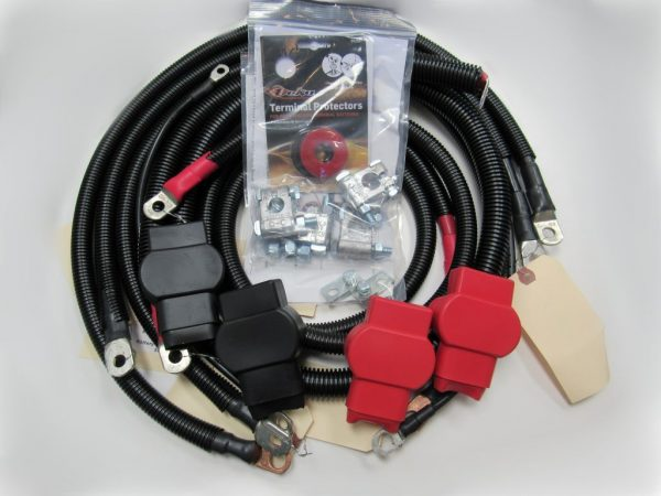 ProSource Battery Cable Kit For 2003-2007 6.0L Powerstroke