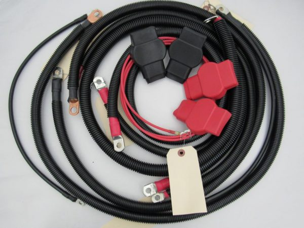 ProSource Battery Cable Kit For 1999-2003 7.3L Powerstroke