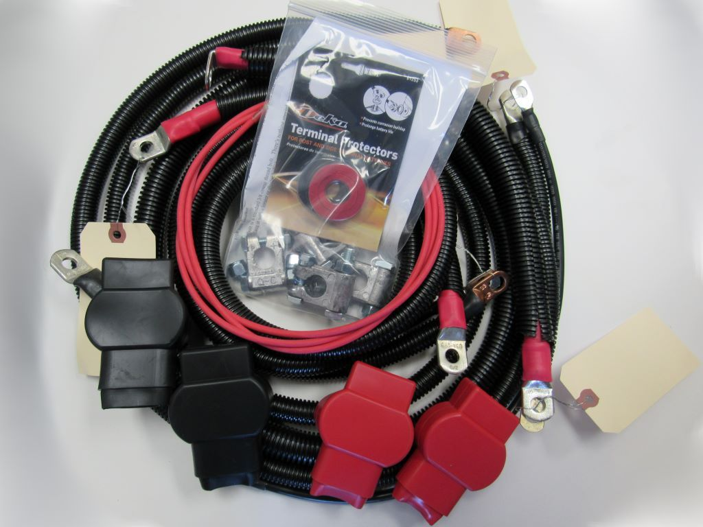 ProSource Battery Cable Kit For 1997-1998 7.3L Powerstroke