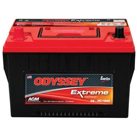 Odyssey Extreme Series AGM Battery 34-PC1500T – ODX-AGM34