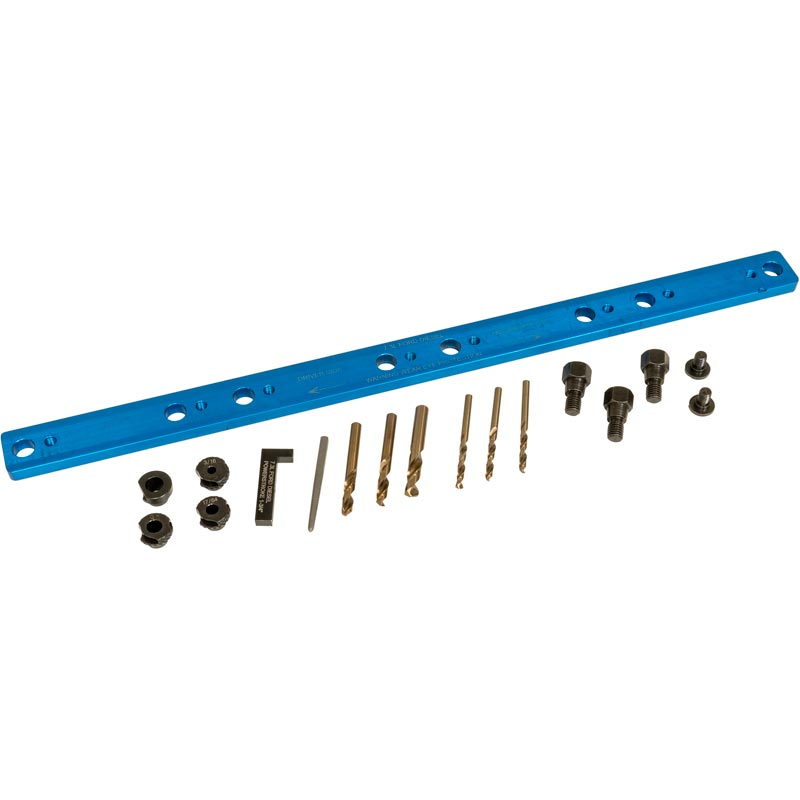 Lisle Exhaust Manifold Bolt Drill Template for 1994-2003 7.3L Powerstroke